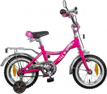 Велосипед Novatrack 12 S BAGIRA розовый novatrack novatrack велосипед bagira 16 синий