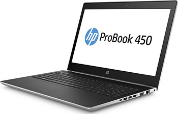 Ноутбук HP Probook 450 G5 (2UB 70 EA) Pike Silver ноутбук hp probook 450 g5 2rs16ea