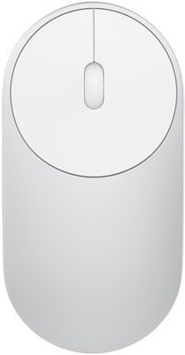 Мышь беспроводная Xiaomi Mi Portable Mouse (Silver) HLK 4007 GL mi portable mouse gold