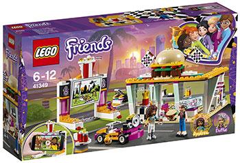 Конструктор Lego Передвижной ресторан 41349 стоимость