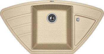 Кухонная мойка Florentina Липси-980 С 980х510 бежевый FG искусственный камень