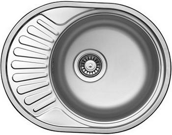 Кухонная мойка Florentina ФОРУМ 577.447.10.08 нержавеющая сталь полированная (чаша справа) ноутбуки фуджитсу