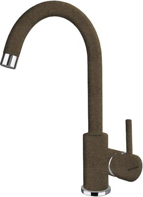 Кухонный смеситель Florentina Альфа коричневый AV стол кухонный альфа 1 ящик 600х600х850мм коричневый глянец