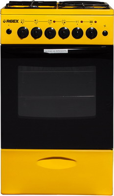 Комбинированная плита Reex CGE-531 ecYe желтый