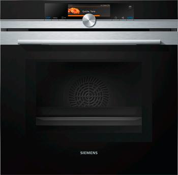 Встраиваемый электрический духовой шкаф Siemens HN 678 G4 S6 встраиваемый электрический духовой шкаф siemens cm 678 g4 s1