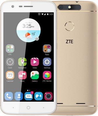 Смартфон ZTE Blade V8 золотой gangxun zte blade v8 корпус pu кожаный флип чехол для карт памяти для zte blade v8