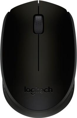 Мышь Logitech Wireless Mouse B 170 Black (910-004798)