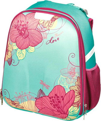 Рюкзак 1 School Цветы ko 012035 рюкзак 1 school божья коровка 3 кармана ko 011920