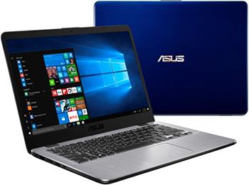 Ноутбук ASUS X 405 UA-BV 860 (90 NB0FA7-M 13060) синий цена и фото