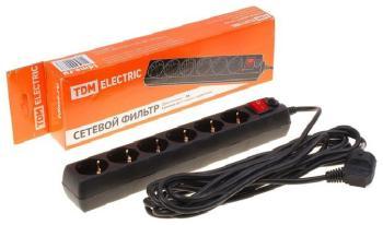 Сетевой фильтр TDM Electric СФ-06В SQ 1304-0011
