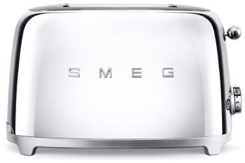 Тостер Smeg TSF 01 SSEU хром тостер smeg tsf 01 bleu чёрный