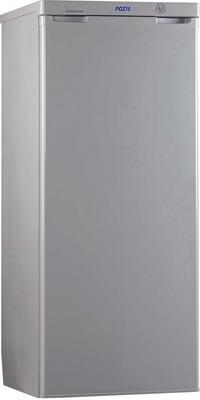 Однокамерный холодильник Позис RS-405 серебристый двухкамерный холодильник позис rk 101 серебристый металлопласт