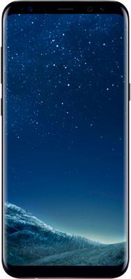 Мобильный телефон Samsung Galaxy S8 (SM-G 950) черный мобильный телефон samsung metro sm b350e duos black blue