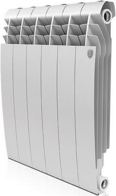 Водяной радиатор отопления Royal Thermo BiLiner 500-6 Bianco Traffico цена