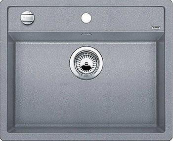 Кухонная мойка BLANCO DALAGO 6-F SILGRANIT алюметаллик с клапаном-автоматом мойка dalago 6 f white 514771 blanco