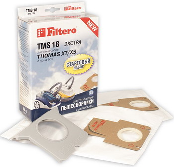 Набор пылесборников Filtero TMS 18 (2 1) СТАРТОВЫЙ filtero tms 17 2 1 стартовый