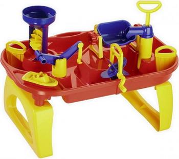 Набор для игр с водой Wader Водный мир №3 40893_PLS машины wader автомобиль констрак полиция