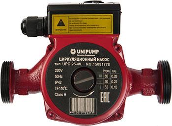 Насос Unipump UPС 25-40 180 53843 циркуляционный насос unipump upc 25 40