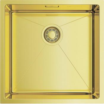 Кухонная мойка OMOIKIRI TAKI 44-U/IF-LG светлое золото (4973520)