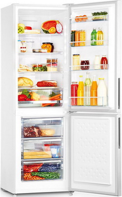 Двухкамерный холодильник Panasonic NR-BN 30 PGW-E белый двухкамерный холодильник don r 297 b