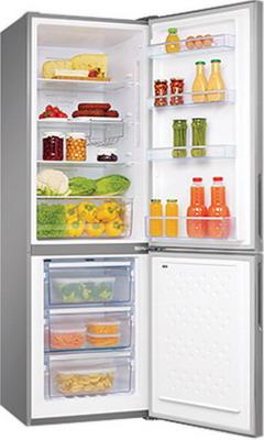 Двухкамерный холодильник Hansa FK 321.4 DFX холодильник встраиваемый hansa bk316 3