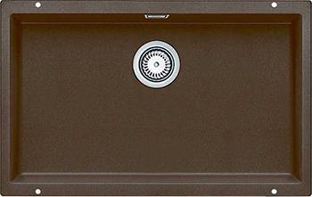 Кухонная мойка BLANCO 523451 SUBLINE 700-U SILGRANIT кофе с отв.арм. InFino кухонная мойка blanco subline 700 u silgranit алюметаллик
