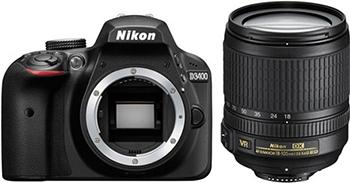 Цифровой фотоаппарат Nikon D 3400 черный KIT AF-P 18-105 VR зеркальный цифровой фотоаппарат nikon d5300 18 105 vr kit black