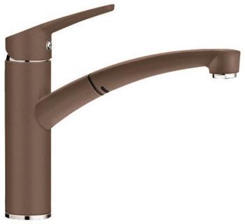 Кухонный смеситель BLANCO NEA-S SILGRANIT мускат 521735 blanco nea silgranit шампань