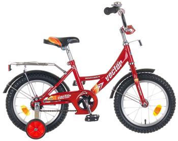 Велосипед Novatrack 143 VECTOR.RD5 14'' Vector красный детский велосипед для мальчиков novatrack cosmic 14 2017 blue