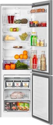 Двухкамерный холодильник Beko RCNK 356 K 00 S двухкамерный холодильник don r 297 b