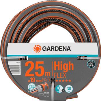 Шланг садовый Gardena HighFLEX 19 мм (3/4'') 25 м 18083-20 шланг gardena superflex диаметр 3 4 длина 25 м