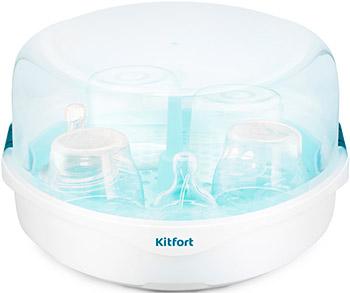 Стерилизатор для СВЧ Kitfort КТ-2304 irisk уф стерилизатор для инструментов