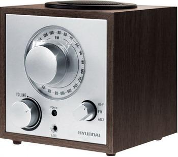 Радиоприемник Hyundai H-SRS 100 венге радиоприемник hyundai h srs100 венге
