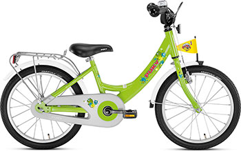 Велосипед Puky ZL 18-1 Alu 4325 kiwi салатовый puky puky велосипед 2 х колесный crusader 24 3 alu light black 24 черный
