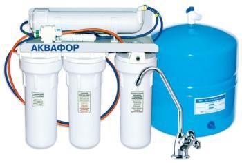 Система обратного осмоса Аквафор ОСМО (50) исп. 5 стационарная система аквафор b 150 фаворит