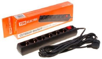 Сетевой фильтр TDM Electric CФ-05 B SQ 1304-0013