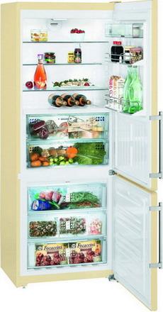 Двухкамерный холодильник Liebherr CBNPbe 5156 двухкамерный холодильник liebherr ctp 2521