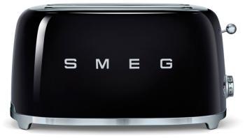 Тостер Smeg TSF 02 BLEU чёрный тостер smeg tsf 02 pkeu розовый