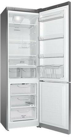 Двухкамерный холодильник Indesit DF 5201 X RM двухкамерный холодильник don r 297 b
