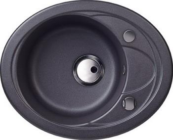 все цены на Кухонная мойка Kuppersberg CAPRI 1B1D S BLACK METAL (7024) онлайн