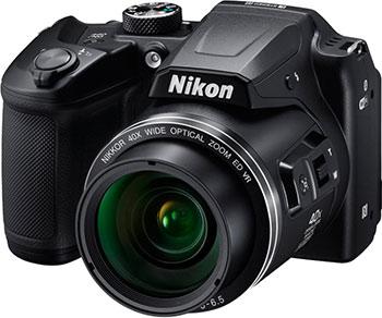 Цифровой фотоаппарат Nikon COOLPIX B 500 черный