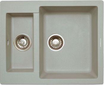 Кухонная мойка LAVA D.1 (SCANDIC серый ) кухонная мойка lava a 2 scandic серый