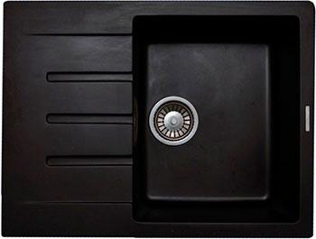Кухонная мойка LAVA L.1 (LAVA чёрный металлик) цена