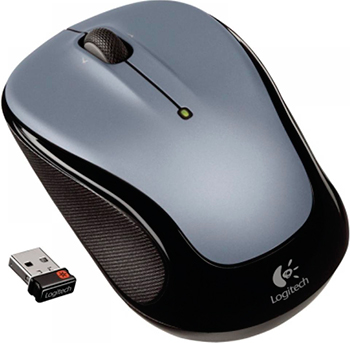 Мышь Logitech Wireless Mouse M 325 Light Silver (910-002334)