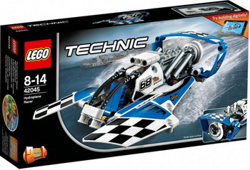 Конструктор Lego Technic Гоночный гидроплан 42045 toys for children china brand 355 self locking bricks compatible with lego technic rescue helicopter 8068 no original box
