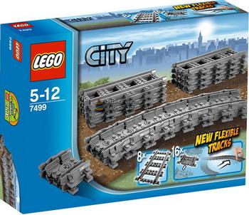 Конструктор Lego City Гибкие пути 7499 lego city миссия исследование джунглей 60159
