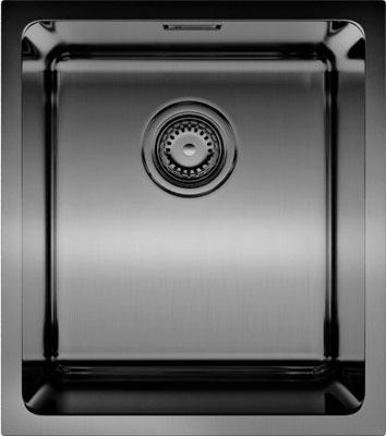 Кухонная мойка OMOIKIRI Tadzava 39-U-GM нерж/вороненая сталь (4993079)
