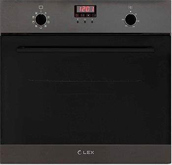 Встраиваемый электрический духовой шкаф Lex EDM 090 BL Matt Edition