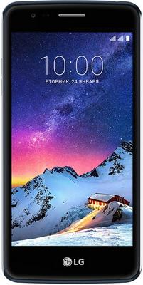 Мобильный телефон LG K8 2017 синий смартфон lg k8 2017 x240 золотистый