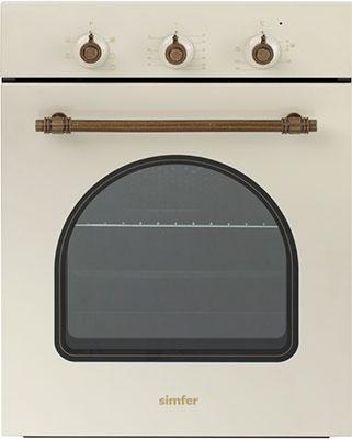 Встраиваемый электрический духовой шкаф Simfer B 4EO 16017 встраиваемый газовый духовой шкаф simfer b6gm12011